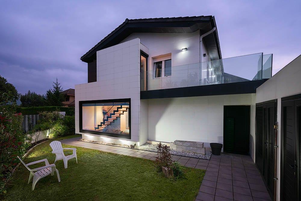 Proyecto de arquitectura de vivienda unifamiliar, reforma en Somio