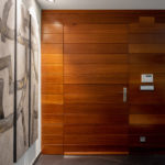Interiorismo, detalle del pasillo en Gijon Cabueñes 13