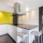 Interiorismo, cocina en una vivienda en Gijon Cabueñes 14