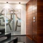 Interiorismo, hall de entrada en Gijon Cabueñes 24