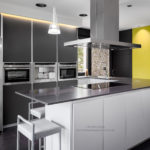 Cocina de vivienda unifamiliar en Cabueñes 06 Gijon. Obras, interiorismo