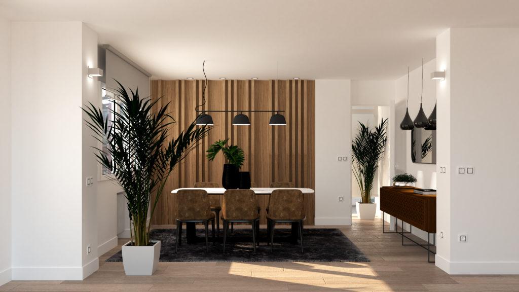Arquitectura de interiores, reforma piso en Gijon, decoración, interiorismo y ejecución de obra