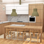 Propuesta de diseño de una cocina en Gijón