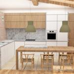 Alternativas para el mismo proyecto de diseño de la cocina