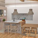 Nueva propuesta para el proyecto del diseño de la cocina