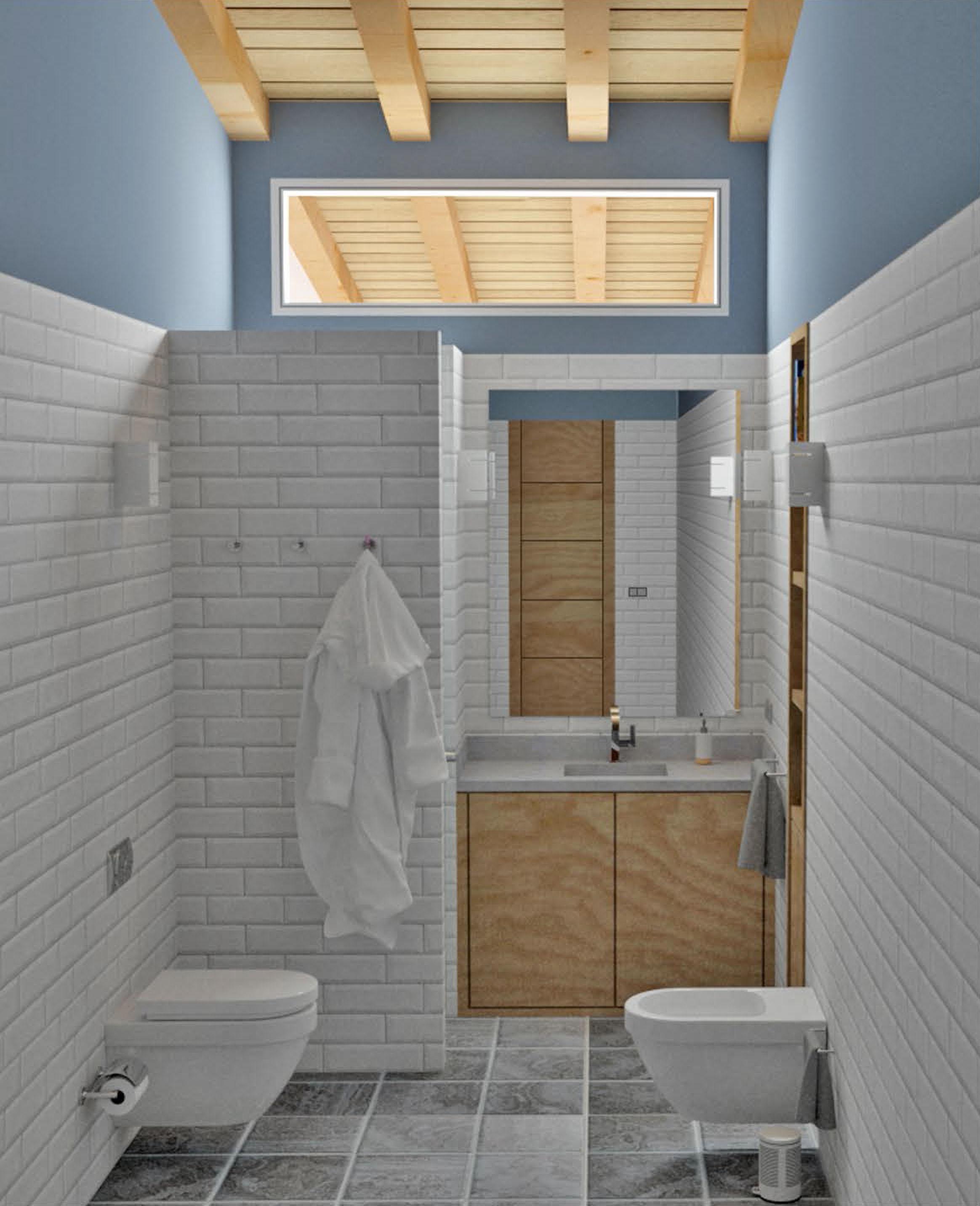 Proyecto de obra nueva, diseño del baño