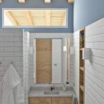 Propuesta de baño para el proyecto del diseño de una vivienda unifamiliar en Gijón
